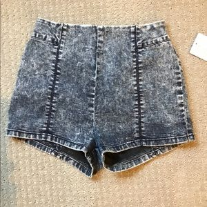 Urban Outfitters high waisted denim shorts. NWT. 0